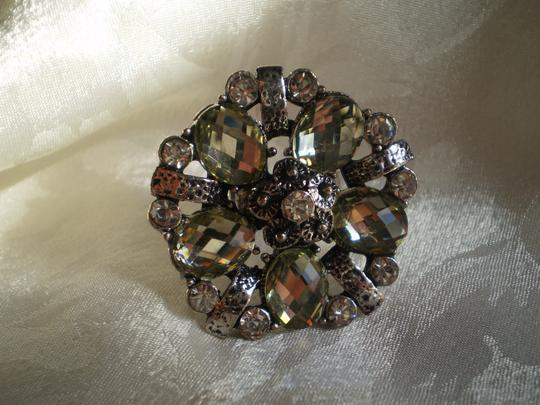 Unknown New Crystals rhinestones bling adjustable ring