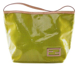 Fendi Lime Small Lime Small Tote in Green