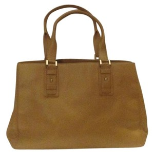 Ellen Tracy Leather Satchel