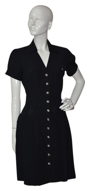 Item - Black Look Fierce Knee Length Cocktail Dress Size OS (one size)