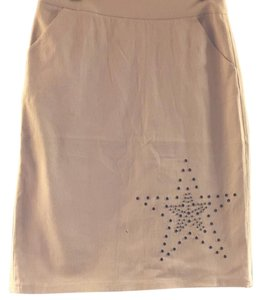 AX Paris Skirt Beige