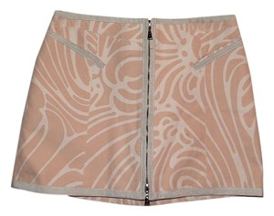 Louis Vuitton Designer Made In Italy Ready To Wear Summer A Line Skirt Pink