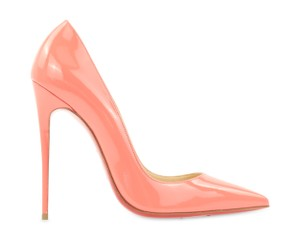 Christian Louboutin So Kate Patent So Kate So Kate Pigalle PInk Pumps