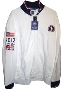 Rugby Ralph Lauren Olympic 2012 Team Usa Polo White Jacket