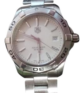 TAG Heuer TAG Heuer Men WAP111 Aquaracer Silver dial watch