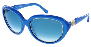 Roberto Cavalli Roberto Cavalli Electric Blue Oval Sunglasses