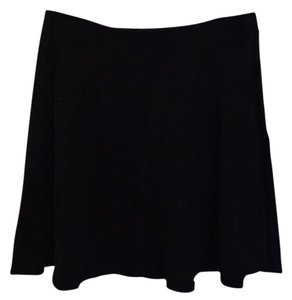 Lily White Mini Skirt Blac
