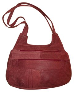 Leather Shoulder Hobo Bag