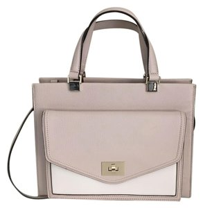 Kate Spade Satchel in Beige/White