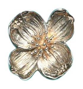 Tiffany & Co. Tiffany & Co Sterling Silver Dogwood Flower Brooch/Pin