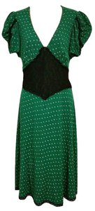 Betsey Johnson Pin-up 40's Swing Flare Dress
