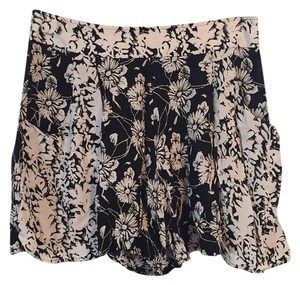Free People Mini/Short Shorts Black/whitw