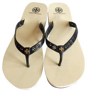 9f7a9c9b57a0 Tory Burch BRIGHT NAVY 420 Sandals - item med img. Tory Burch. Bright Navy  420 In Box Miranda Flip Flop Flat Rubber Sandals