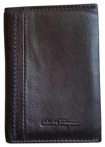 Salvatore Ferragamo Salvatore Ferragamo Mens Leather Credit Card Case