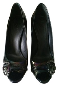 Gucci Patent Leather Heels Black Pumps