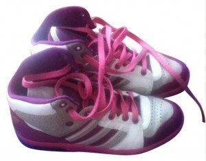 adidas High Top multi pink/purple Athletic