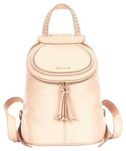 Cole Haan Leather Dustbag Backpack