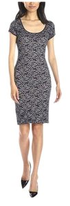 BCBGMAXAZRIA short dress Dark Navy Bcbg on Tradesy