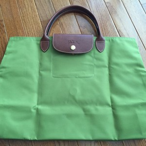 Longchamp Green Simple Light Satchel