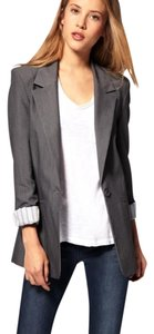 Necessary Objects Dark Gray Blazer