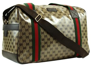 Gucci Travel Brown Travel Bag