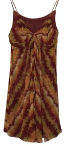 Gianni Bini short dress Red, Orange, Yellow multicolored dress on Tradesy