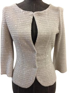 Iisli Sequin Blazer Size 4 Sweater