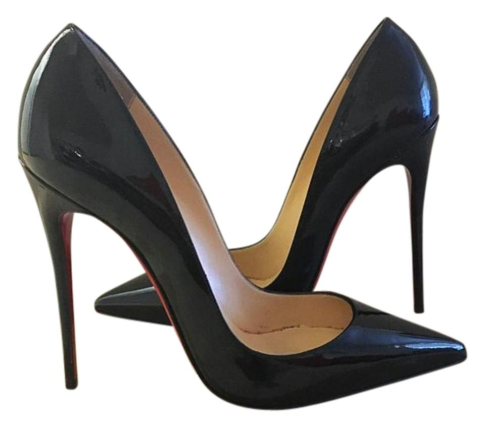 hot sale online 77a44 6aab3 Christian Louboutin Black Patent Leather So Kate 120mm Pumps Size US 9  Narrow (Aa, N) 26% off retail