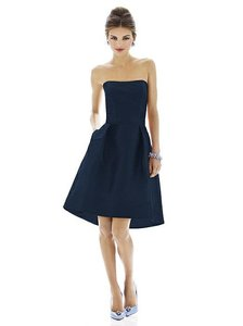 Alfred Sung Midnight Alfred Sung D580 Bridesmaid Dress Dress