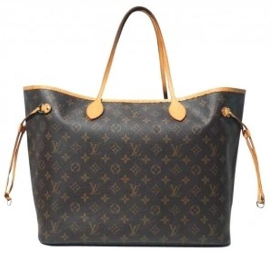 Preload https://item4.tradesy.com/images/louis-vuitton-neverfull-gm-browns-canvas-and-leather-tote-165933-0-0.jpg?width=440&height=440