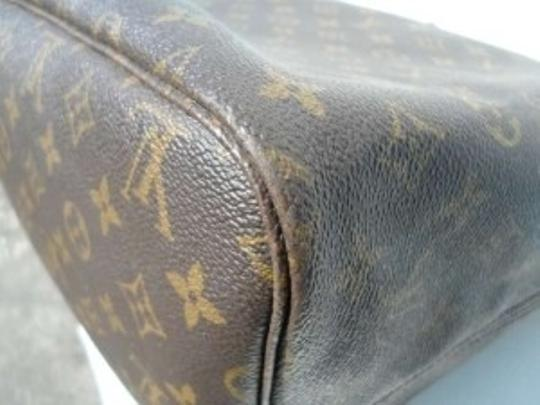 Louis Vuitton Monogram Leather Tote in Browns