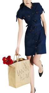 Lanvin short dress Denim on Tradesy