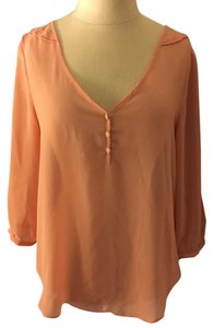 LC Lauren Conrad Top Peach/light orange