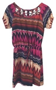 Gianni Bini short dress Multicolored on Tradesy