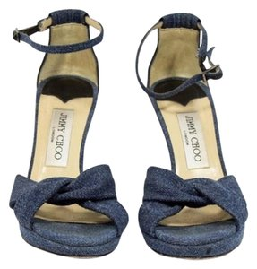 Jimmy Choo Denim Sandals