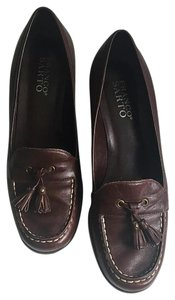 Franco Sarto Dark Brown Wedges