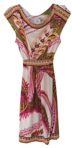 ECI New York short dress Pink Multi on Tradesy
