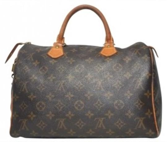 Preload https://img-static.tradesy.com/item/165942/louis-vuitton-speedy-30-browns-canvas-and-leather-satchel-0-0-540-540.jpg