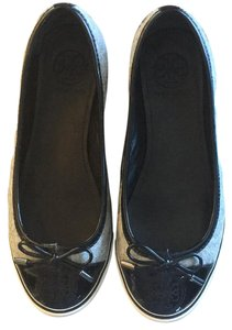 Tory Burch Black/ grey Flats