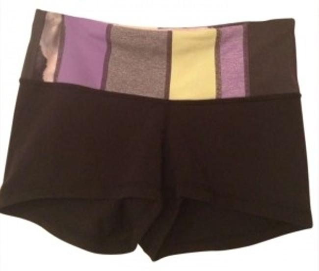 Preload https://item1.tradesy.com/images/lululemon-black-with-multi-color-band-boogie-short-activewear-size-2-xs-26-165945-0-0.jpg?width=400&height=650