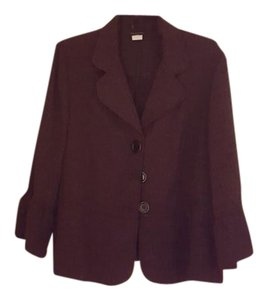 Courteney Purple/black Blazer