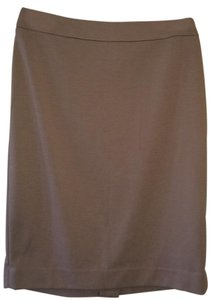 Halogen Knit Skirt tan