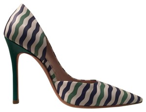 Miu Miu Green Multi Pumps
