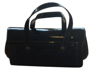 Tiffany & Fred Satchel in Black