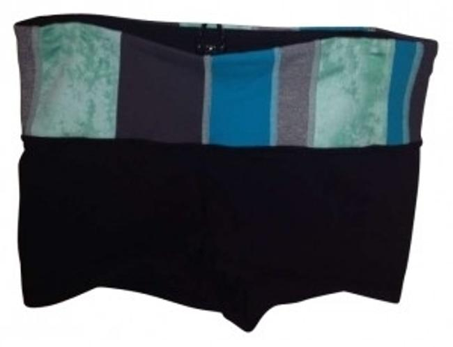 Preload https://img-static.tradesy.com/item/165954/lululemon-black-with-multi-color-band-boogie-activewear-shorts-size-2-xs-26-0-0-650-650.jpg