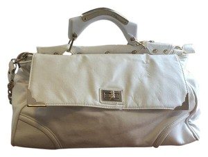Big Buddha Satchel in White