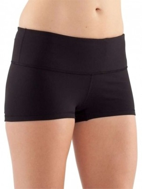 Preload https://item2.tradesy.com/images/lululemon-black-boogie-activewear-shorts-size-2-xs-26-165956-0-0.jpg?width=400&height=650