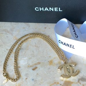 Chanel Chanel Classic CC XL Gold Double Chain Necklace