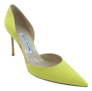Manolo Blahnik Yellow Pumps