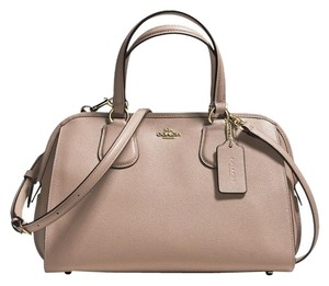 Coach Style No: 36392 Satchel in Light Gold/Stone